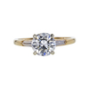 1.13 ct. Round Cut Solitaire Ring, F, VS1 #2