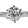 0.74 ct. Round Cut Bridal Set Ring, H, VS2 #4