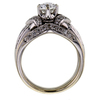 1.01 ct. Oval Cut Bridal Set Ring #3
