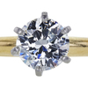 1.07 ct. Round Cut Solitaire Ring, I, I1 #4