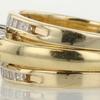 0.76 ct. Emerald Cut Bridal Set Ring #4