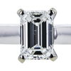 1.24 ct. Emerald Cut Solitaire Ring, G, VS2 #4
