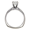 1.0 ct. Round Cut Bridal Set Ring, G, SI2 #4