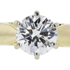 0.77 ct. Round Cut Solitaire Ring, H, VVS2 #1