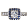 0.63 ct. Round Cut Halo Ring, H, VS2 #2