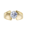 1.04 ct. Round Cut Solitaire Ring, G-H, I1 #2