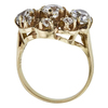 European Cut Central Cluster Ring, I-J, VS2-SI1 #3