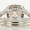 1.01 ct. Round Cut Bridal Set Ring #3