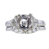 1.53 ct. Oval Cut Bridal Set Ring, H, SI1 #3