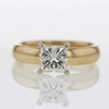 1.5 ct. Princess Cut Solitaire Ring #4