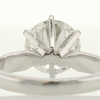 2.19 ct. Round Cut Solitaire Ring #4