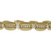 Round Cut Link Bracelet, K-L, VS2-SI1 #1