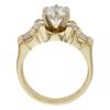 1.04 ct. Round Cut Bridal Set Ring, J, SI2 #4