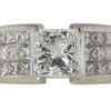 2.02 ct. Princess Cut Solitaire Ring #4