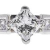 1.01 ct. Princess Cut Bridal Set Ring, I, SI2 #4