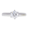 0.76 ct. Round Cut Solitaire Ring, E, VS1 #3