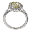 2.31 ct. Cushion Cut Halo Ring, Fancy, SI2-I1 #4