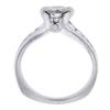 0.95 ct. Round Cut Bridal Set Ring, I-J, I1 #3