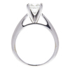 0.99 ct. Princess Cut Bridal Set Ring, H-I, VS2 #2