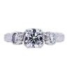 0.76 ct. Round Cut Solitaire Ring, G, SI1 #3