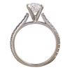 1.50 ct. Oval Cut Bridal Set Ring, H, SI1 #4
