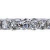 Round Cut Eternity Band Ring, J-K, VS2-SI1 #2
