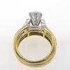 .99 ct. Round Cut Bridal Set Ring #1
