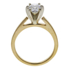 1.09 ct. Oval Cut Solitaire Ring, H, SI1 #4