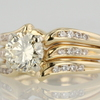 1.02 ct. Round Cut Bridal Set Ring #2
