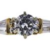 0.67 ct. Round Cut Bridal Set Ring, G-H, VS1 #2