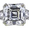 2.84 ct. Square Emerald Cut Solitaire Ring, F, SI1 #4