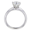 Antique GIA 1.37 ct. Round Cut Bridal Set Tiffany & Co. Ring, H, VVS2 #3