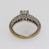 1.09 ct. Round Cut Bridal Set Ring #1