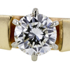 0.93 ct. Round Cut Bridal Set Ring #4