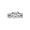 1.2 ct. Princess Cut Bridal Set Ring, M, VS1 #3