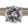 0.91 ct. Round Cut Bridal Set Ring #3