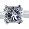 1.18 ct. Princess Cut Solitaire Ring, E, SI1 #4
