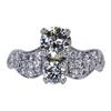 1.05 ct. Old European Cut Bridal Set Ring, M-Z, VS2 #3