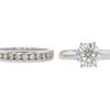 1.34 ct. Round Cut Bridal Set Ring, G, SI2 #3
