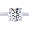 1.77 ct. Round Cut Solitaire Ring, H, VS2 #3
