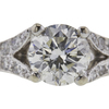1.2 ct. Round Cut Solitaire Ring, J, SI2 #4