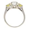 1.06 ct. Round Cut Bridal Set Ring, G, SI2 #4