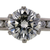 1.73 ct. Round Cut Bridal Set Ring #2
