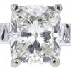 1.52 ct. Cushion Modified Cut Bridal Set Ring, J, VVS2 #4