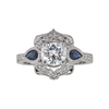 0.72 ct. Round Cut Solitaire Ring, H-I, SI1-SI2 #2