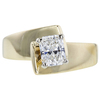 1.00 ct. Radiant Cut Solitaire Ring, H, SI1 #4