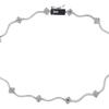 Round Cut Collar Necklace, G-H, I1-I2 #2