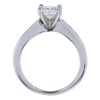 0.95 ct. Princess Cut Ring, H-I, I1 #3