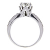 1.12 ct. Round Cut Bridal Set Ring, J, VS2 #4