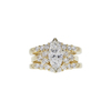 1.33 ct. Marquise Cut Right Hand Ring, G, VS2 #4